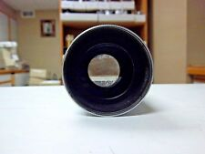 Holmes Projector Co.  2 1/2 inch Focus f/1.6 16mm Cine Projection Lens. Used.