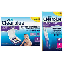 Clearblue Advanced Fertility Monitor + Optional Test Sticks