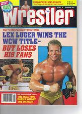 The Wrestler wrestling magazine November 1991
