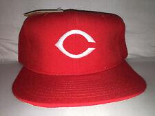 Vtg Cincinnati Reds NEW ERA Fitted hat cap size 7 3/4 90s NWT Rose Sabo Bench