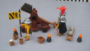 PLAYMOBIL 3653 Ritter Steinschleuder Katapult, siehe BIlder