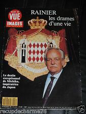 11 1990 POINT DE VUE n 2207 RAINIER / MICHIKO JAPON / FELIPE DE BOURBON
