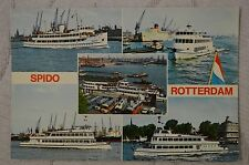 """CPM """" SPIDO - ROTTERDAM - Ponton Willemsplein"""