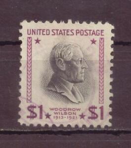 U.S, President Woodrow Wilson, Presidential Series, Used, 1938, OLD