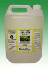 VEGETABLE GLYCERINE EP/USP FOOD/COSMETIC GRADE - 10 LITRES (2 x 5 LITRES)