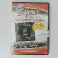 Floriani  Projects from Floral Tapestry Collection  Debbie Homer 60 min DVD New