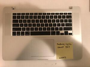 "15"" MacBook Pro 2013-2014 661-8311 TOP CASE Keyboard Track-Pad Battery A1398 ""B"""