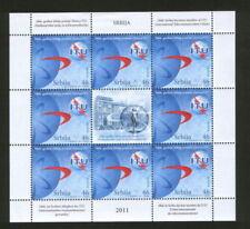 Independent Nation Miniature Sheet Organizations Postal Stamps