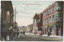 The High Street Acton, London 1906 Postcard B824