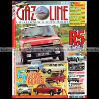 GAZOLINE N°217 FIAT 8V LANCIA APPIA CAMIONCINO PEUGEOT 504 R5 RENAULT 5 ALPINE