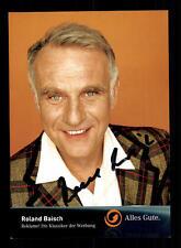 Roland Baisch Kabel1 Autogrammkarte Original Signiert # BC 60589
