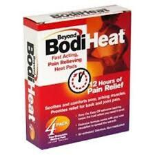 """Beyond BodiHeat Disposable Heating Pads -3.75""""X 5.125"""" - 4 ct."""