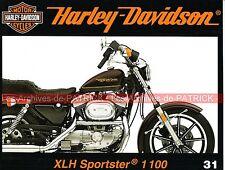 HARLEY DAVIDSON XLH 1100 Sportster Préparation Fire Bike d'Arlen NESS Vélos MOTO