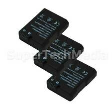 3 Decoded Battery For Nikon EN-EL14 DSLR D3100,D3200,D5100,D5200 USA Seller