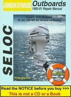 Johnson Evinrude Manual 65-300HP Outboard Repair Service Shop Manual 1992-2001
