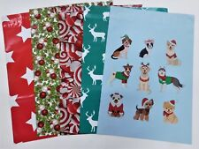 50 10x13 Candy Cane Christmas Festive Pups Mailers Poly Shipping Self Adhesive