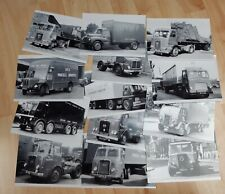 More details for british road services commercial lorries photographs x 13