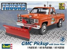 Revell Monogram 7222  1970's GMC Pickup Truck with Snow Plow model kit 1/24