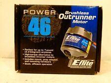 E-Flite Power 46 Brushless Outrunner Motor, 670Kv: 3.5mm Bullet Eflm4046A