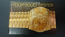 Vintage Rolex Watch 1991 Oyster Booklet Owners Manual in English