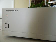 highfideler Klang ,satte Leistung  Harman Kardon  HK 870  ... Stereo PowerAmp.