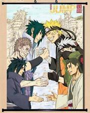 Home Decor Wall poster Scroll Naruto SHIPPUDEN Uzumaki Kyuubi Chakra 45*60CM E71