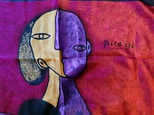Carré foulard scarf Picasso cubisme
