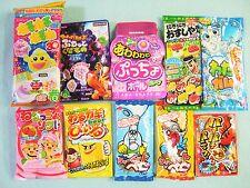 Japasene Candy 10 PCS Set Kracie Popin Cookin Dagashi Nerunerunerune UHA Gift