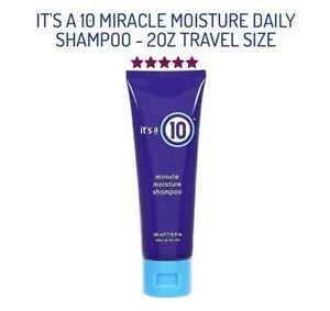 IT'S A 10 MIRACLE MOISTURE DAILY SHAMPOO - 2OZ TRAVEL SIZE