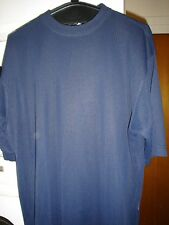 Incredible & Stylish BERNINI BEVERLY HILLS Blue Short Sleeve Shirt-Made in Italy