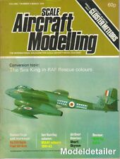 Scale Aircraft Modelling SAM V1 N6 The Sea King Gloster Meteor RAF Short Skyvan