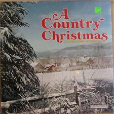 A COUNTRY CHRISTMAS, CASH DEAN WYNETTE - SEALED LP