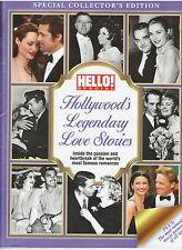 HOLLYWOOD'S LEGENDARY LOVE STORIES LIZ TAYLOR GABLE BOGART GARBO NEWMAN LEIGH