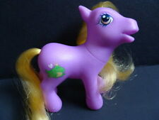 My Little Pony G3 ROYAL BEAUTY Crystal Rainbow Castle Ponies Purple Frog Symbol
