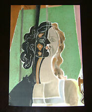 George Braque 'Figure' 1939 VERVE lithograph on heavy paper (by Mourlot Paris)