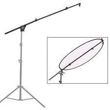 Extendable Bracket Video Light Reflector Diffuser Holder Stand Boom Pole Arm