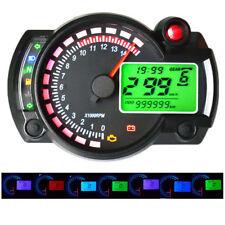 KOSO RX2N similar LCD digital Motorcycle Odometer 7 colors Speedometer
