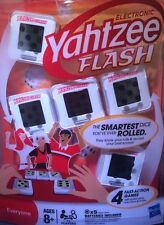 ELECTRONIC YAHTZEE FLASH DICE GAME FAMILY PARKER BROTHERS NEW HASBRO 8+ Kids
