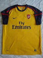5/5 ARSENAL 2008/2009 SIZE XL ORIGINAL FOOTBALL SOCCER AWAY SHIRT JERSEY NIKE