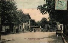 CPA LA VARENNE CHENNEVIERES La Place de la Gare (600287)