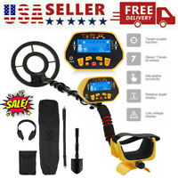 Deep Ground Waterproof Metal Detector Gold Finder-LCD Display Shovel-Search-Coil