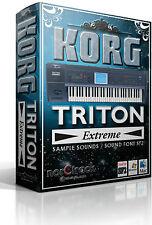 KORG TRITON EXTREME Samples Sounds SoundFont SF2 vst-store norCtrack tritone