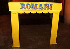 Playmobil pièce détachée cirque Romani façade entrée 3720 ref ii