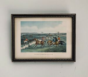 H ALKEN (1785-1851) TO THE CRANERS OF ENGLAND Framed Mounted Etched Hunt Drawing