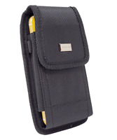 Rugged Canvas Pouch Metal Belt Clip Case Tactical Holster For Samsung Galaxy A01