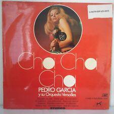 """Pedro García Y Su Orquesta Versalles – Cha Cha Cha (Vinyl, 12"""", LP, Album)"""