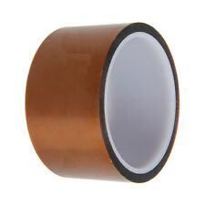 50mm 5cm x 30M Kapton Tape Sticky High Temperature Heat Resistant Polyimide k9