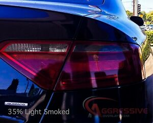 2008 to 2014 Audi A5 S5 Smoked Tail Light Vinyl Tint Film RS5 Smoke Overlays