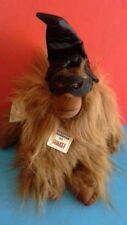 NWT Plush Creations Orangutan Plush Wearing Witch Hat & Mask Halloween