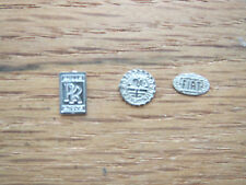 Pocher 1/8 Metal Rolls Royce Fiat Alfa Romeo 8C 2300 Correct Badge Emblems